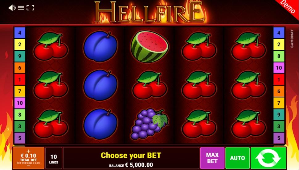 Hellfire - Slot
