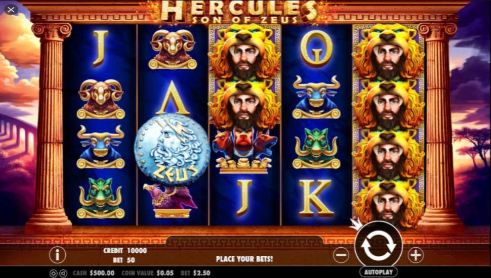 Hercules Son of Zeus - Slot