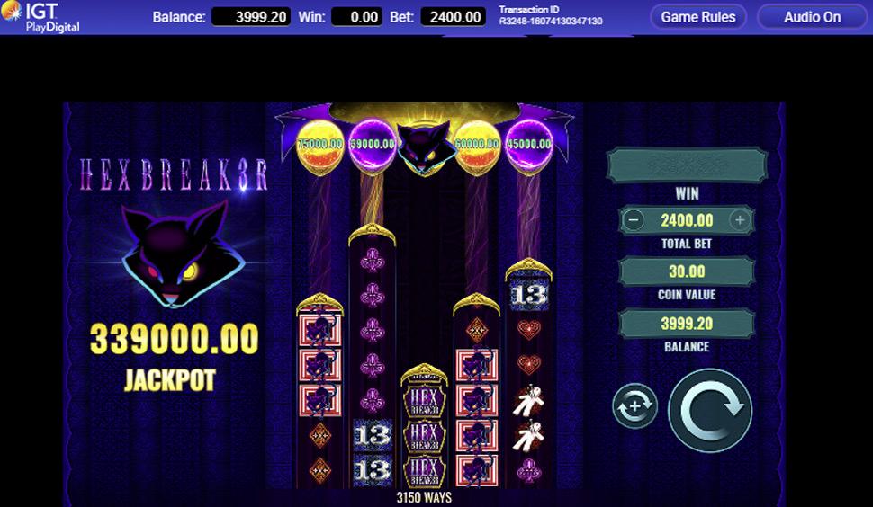 HexBreaker 3 - slot