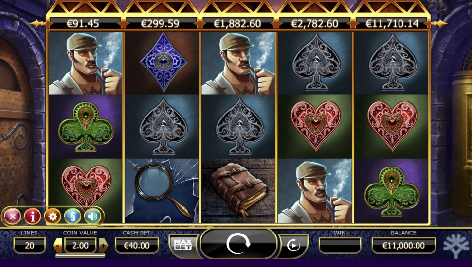 Holmes And The Stolen Stones - Slot