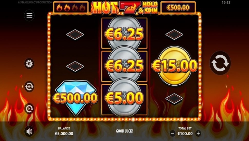 Hot 7 Hold & Spin - Bonus Features