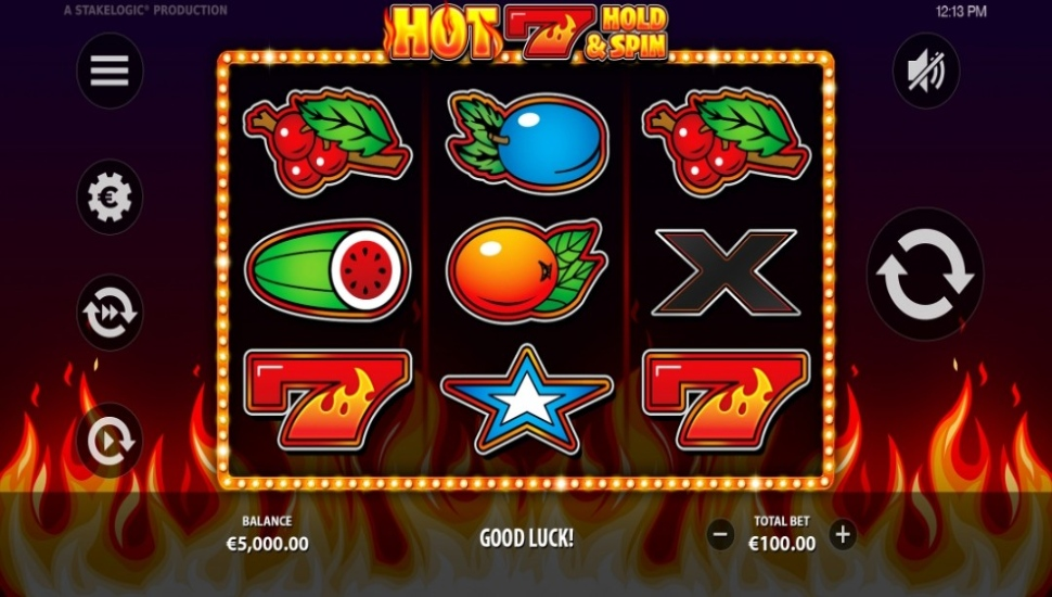 Hot 7 Hold & Spin - Slot