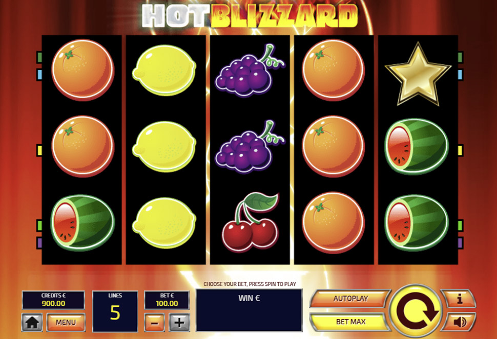 Hot Blizzard - slot