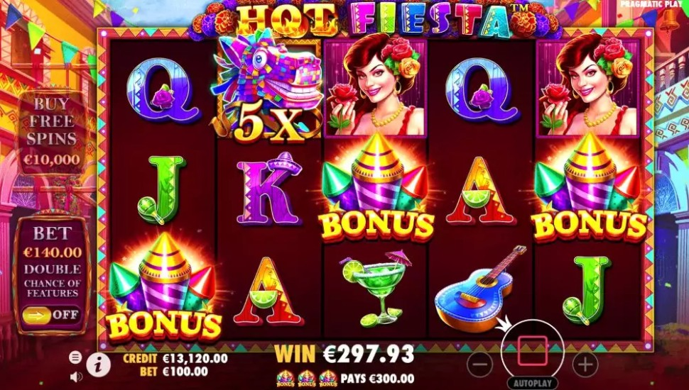 Hot fiesta - Bonus Features