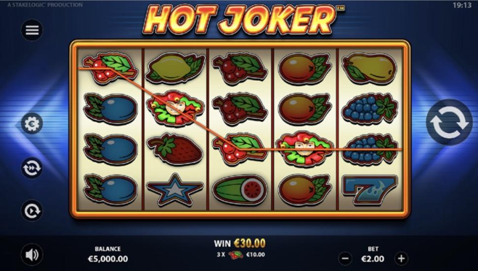 Hot Joker - Bonus Features