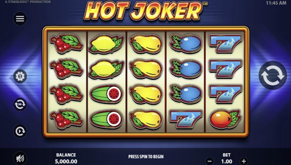 Hot joker - Slot