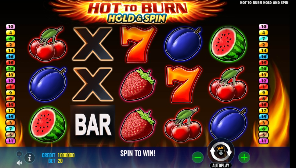 Hot to Burn Hold & Spin - Slot