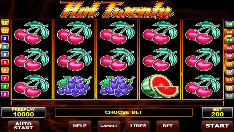 Hot Twenty - Slot
