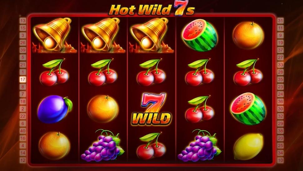 Hot wild 7s - Bonus features