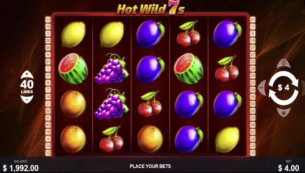 Hot Wild 7s - Slot
