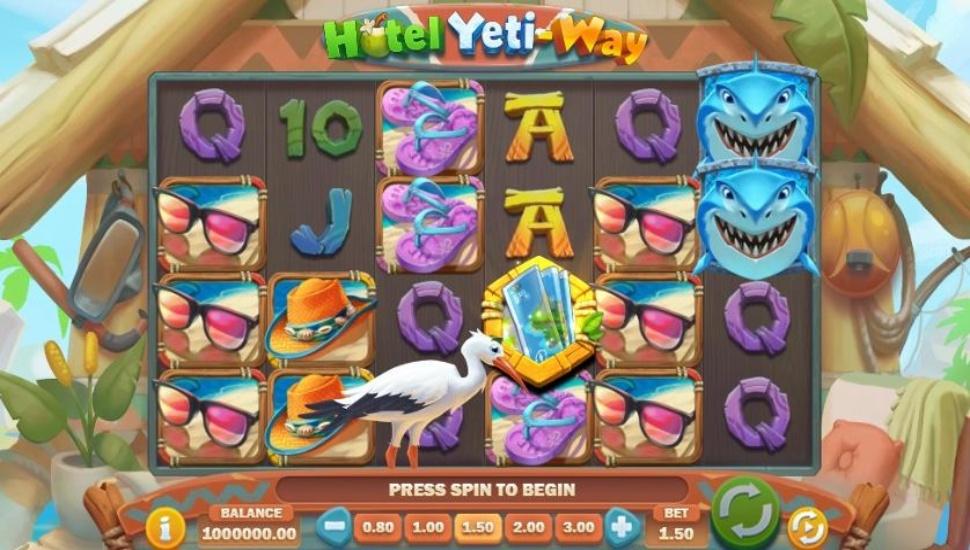 Hotel Yeti-Way Slot by Play'n GO