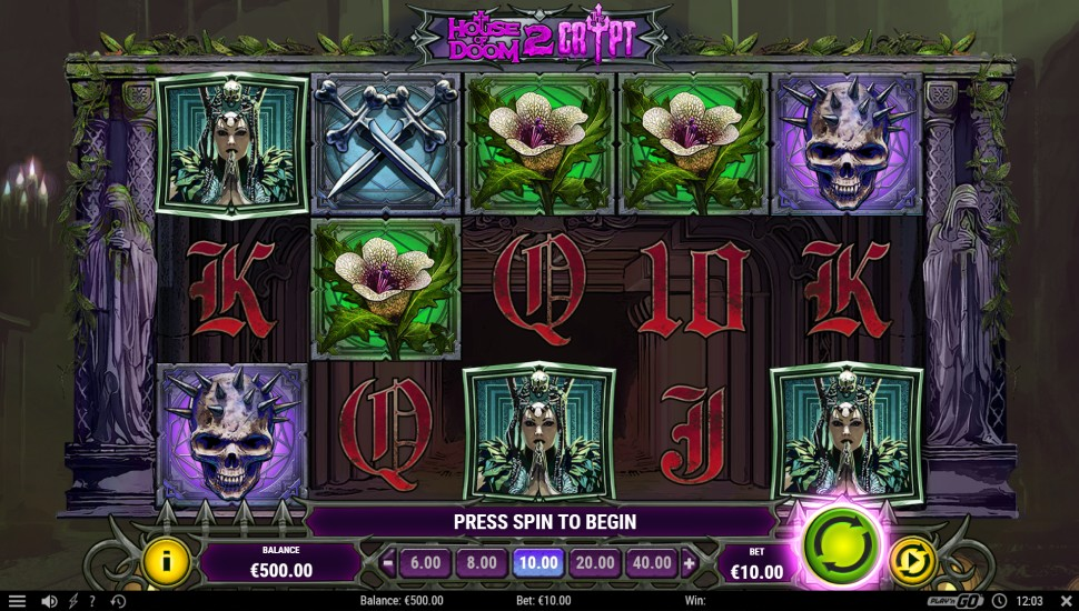 House of Doom 2: The Crypt - Slot