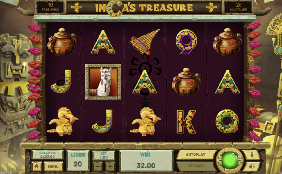 Inca's Treasure - slot