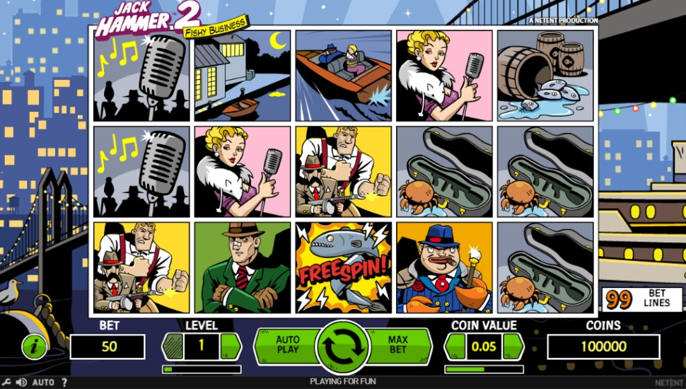 Jack Hammer 2 - Slot