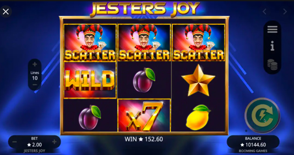 Jesters joy - slot