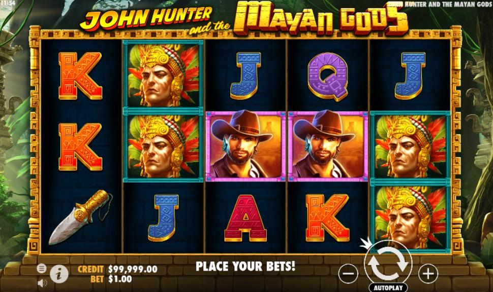 John Hunter and the Mayan Gods - Slot