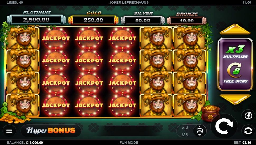 Joker Leprechauns - Bonus Features