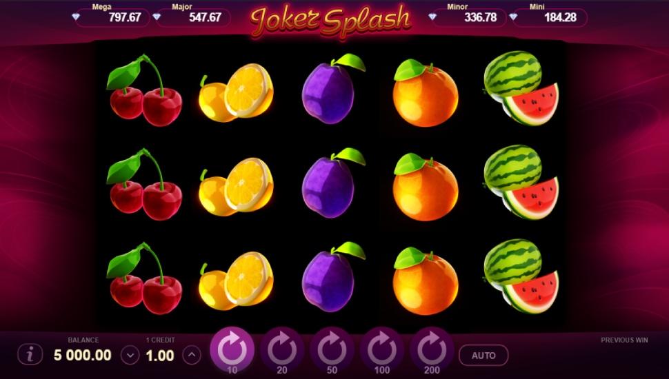 Joker Splash Online Slot by Gamzix