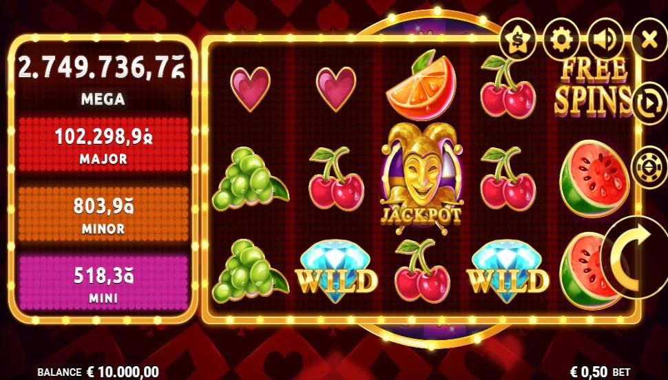 Juicy Joker Mega Moolah - Slot