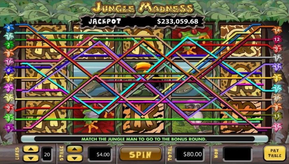 Jungle Madness - Slot