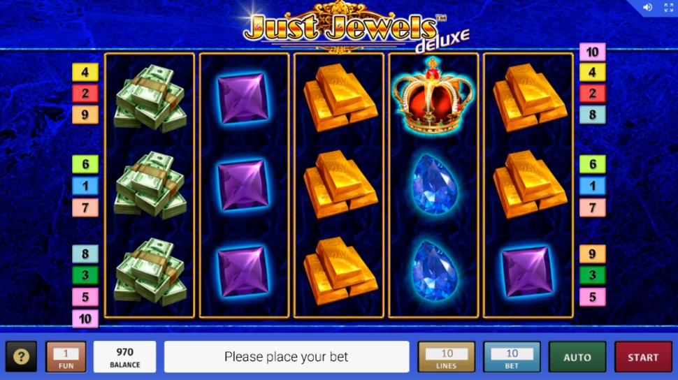 Just Jewels Deluxe - online slot