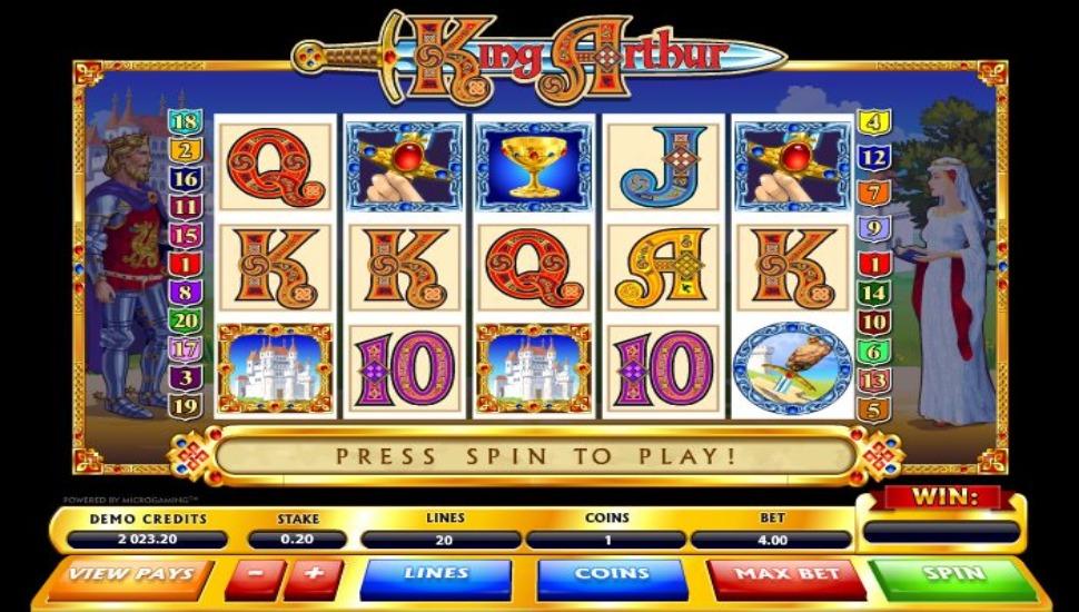 King Arthur - Slot