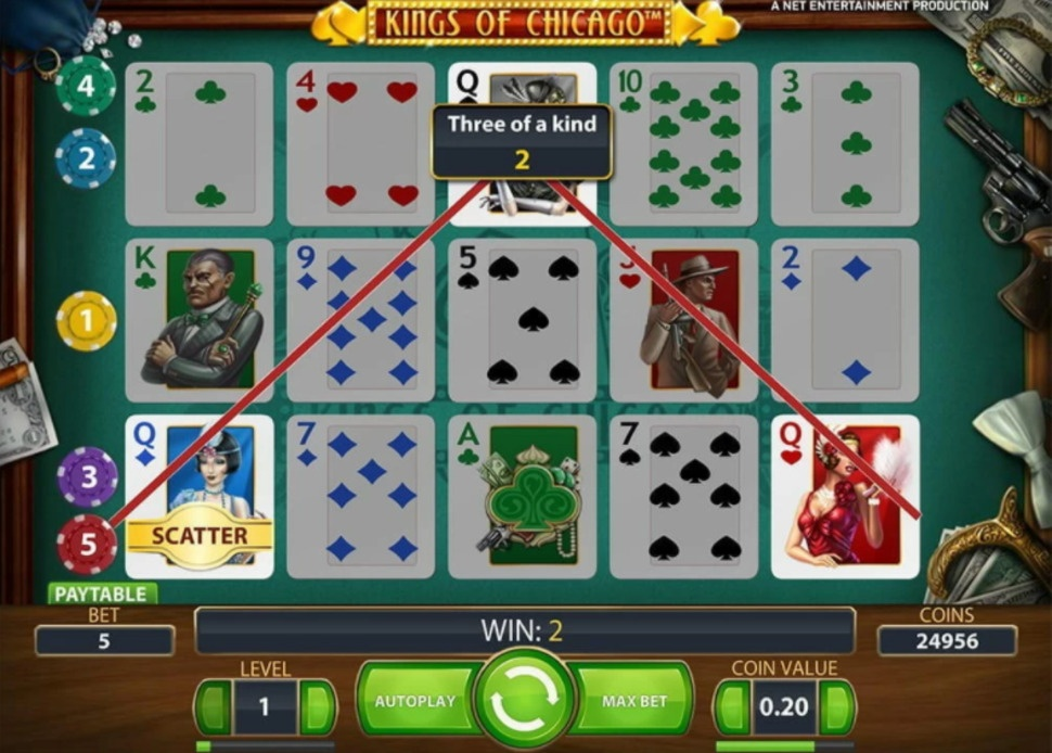 King of Chicago - online slot
