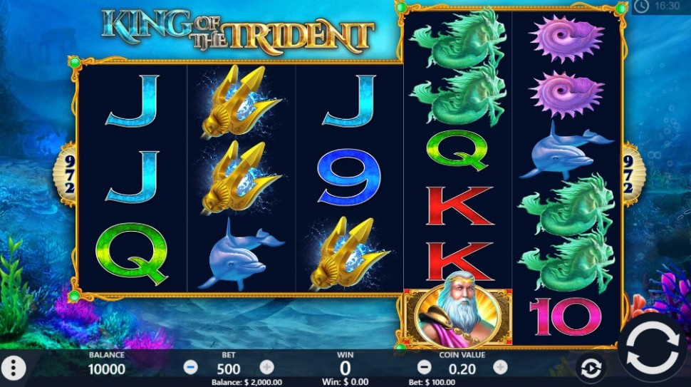 King of the Trident - slot