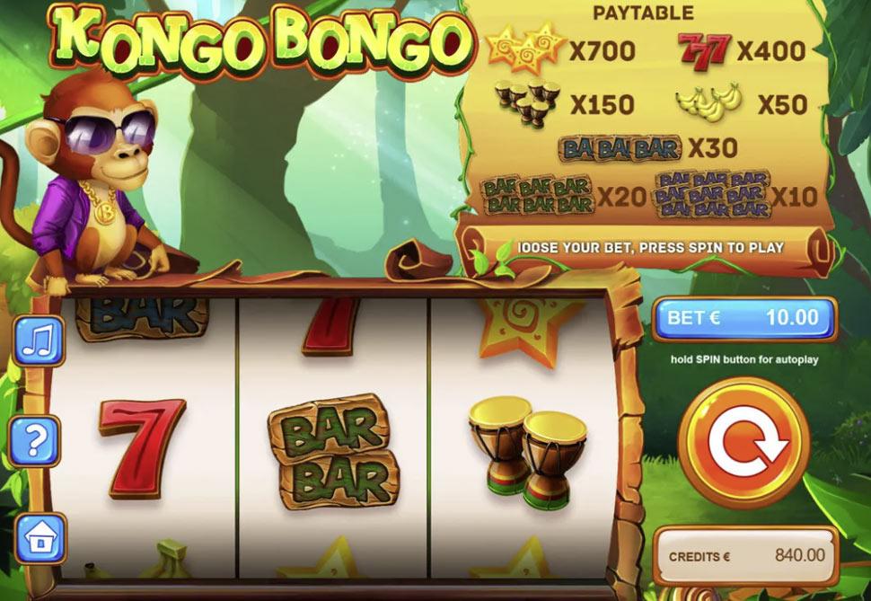 Kongo Bongo - slot