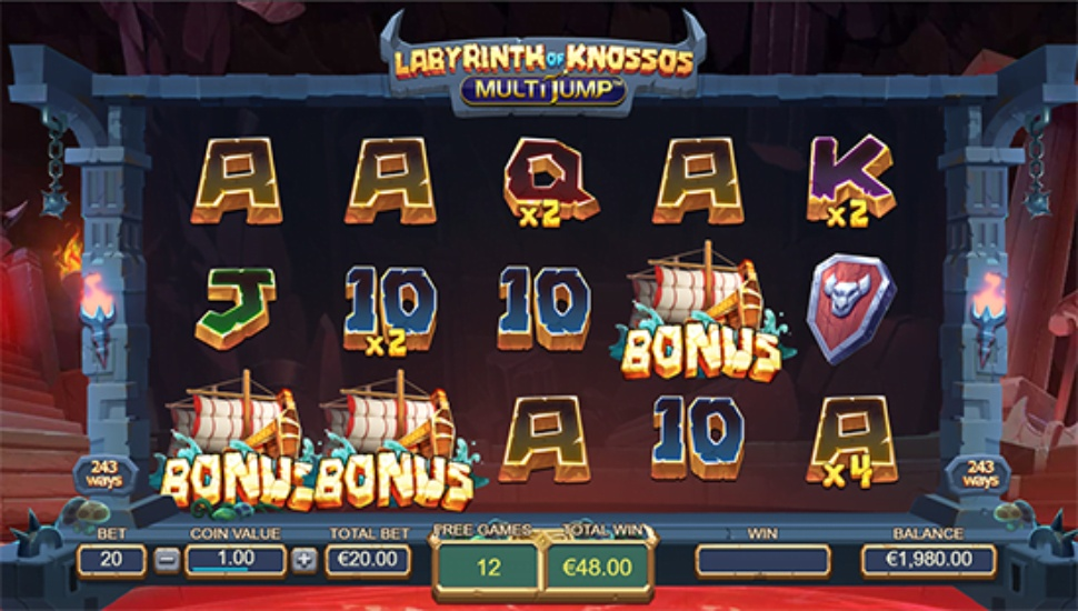 Labyrinth of Knossos Multijump - Bonus Features