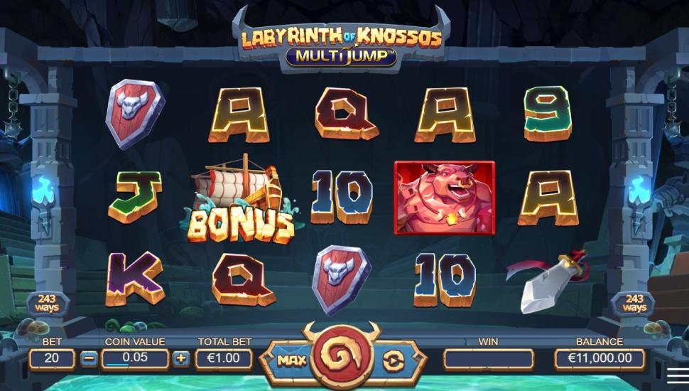 Labyrinth of Knossos Multijump - Slot