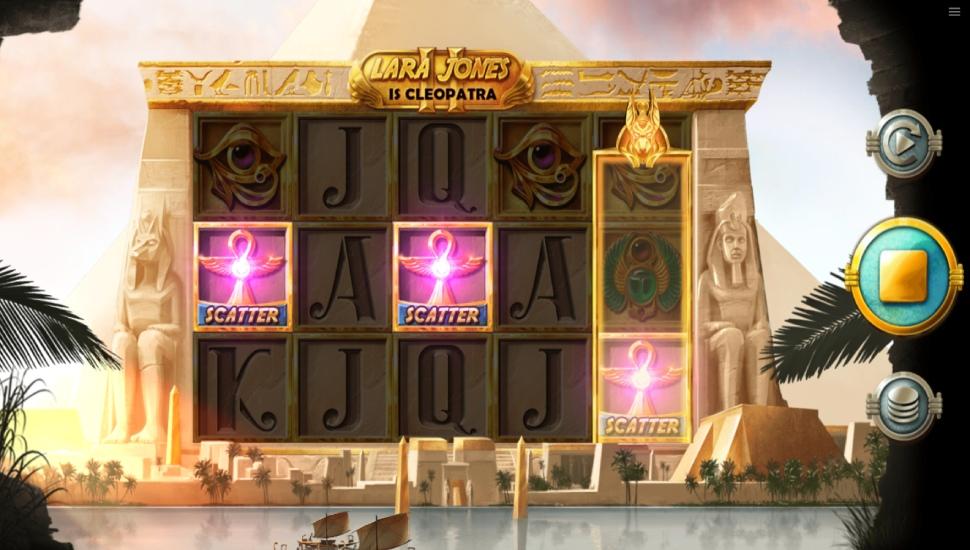 Lara Jones is Cleopatra II - Bonus Features