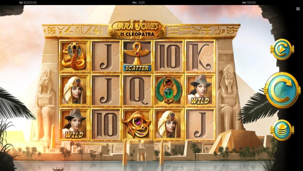 Lara Jones is Cleopatra II - Slot