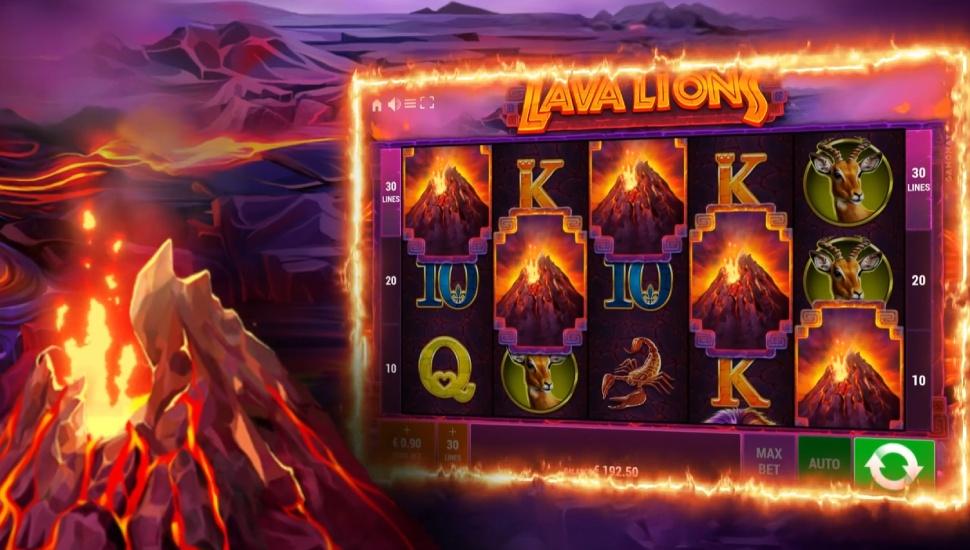 Lava Lions - Bonus Features