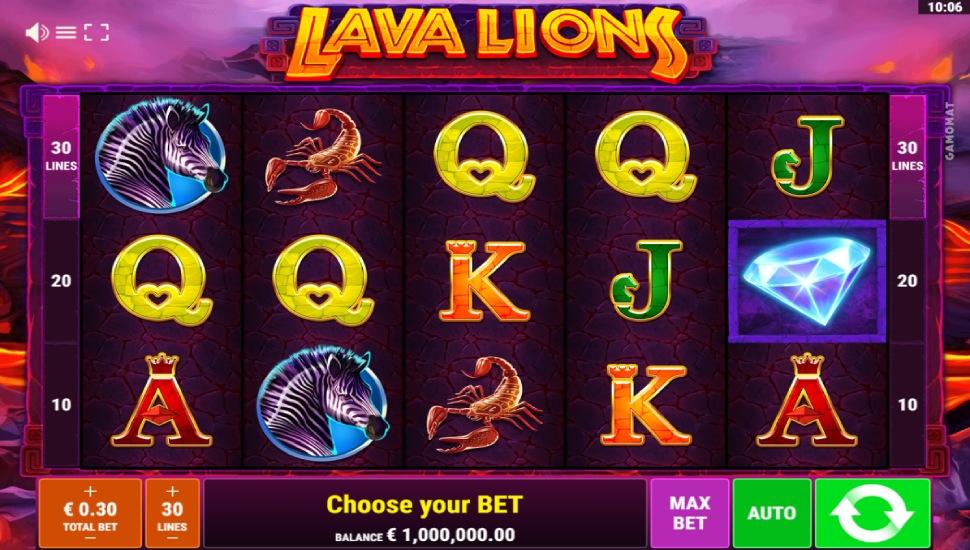 Lava Lions - Slot