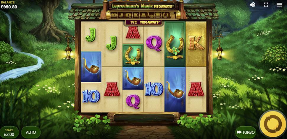 Leprechaun's magic megaways - slot