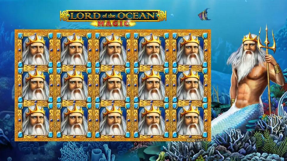 Lord of the Ocean Magic - Slot