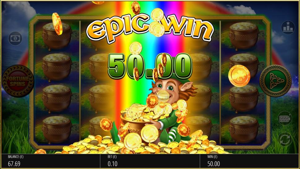 Luck O' The Irish Fortune Spins 2 - Bonus Features