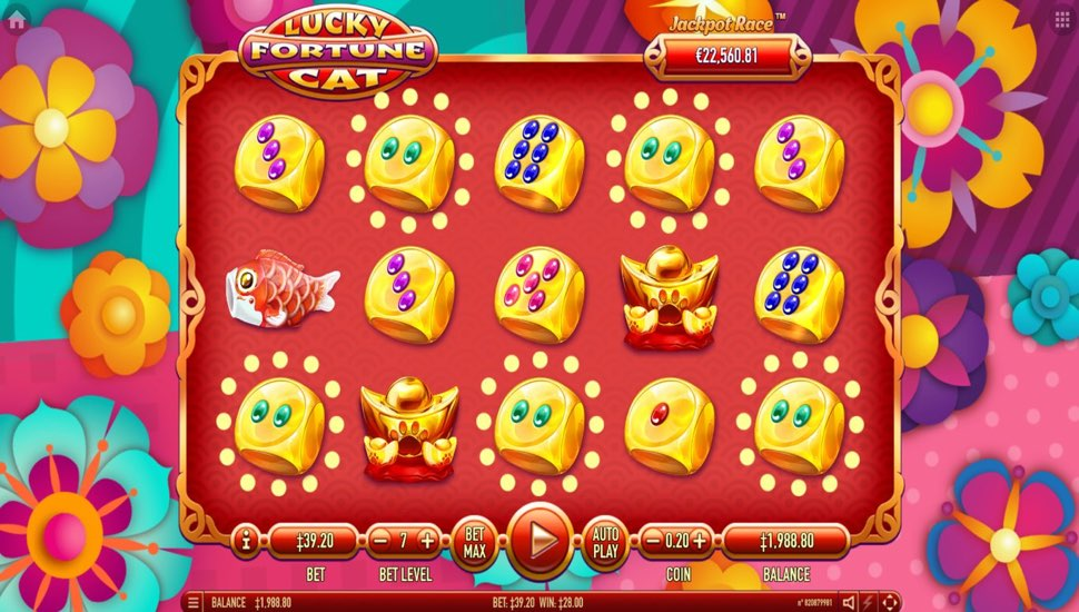 Lucky Fortune Cat Online Slot