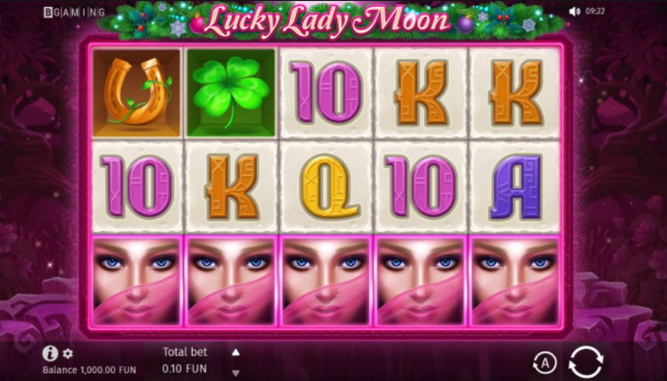 Lucky Lady Moon - slot