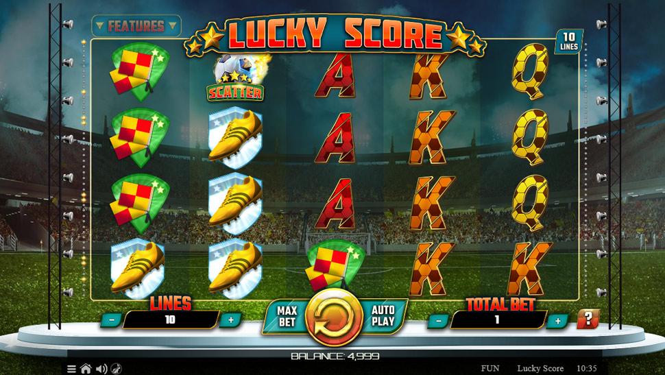 Lucky score - Slot