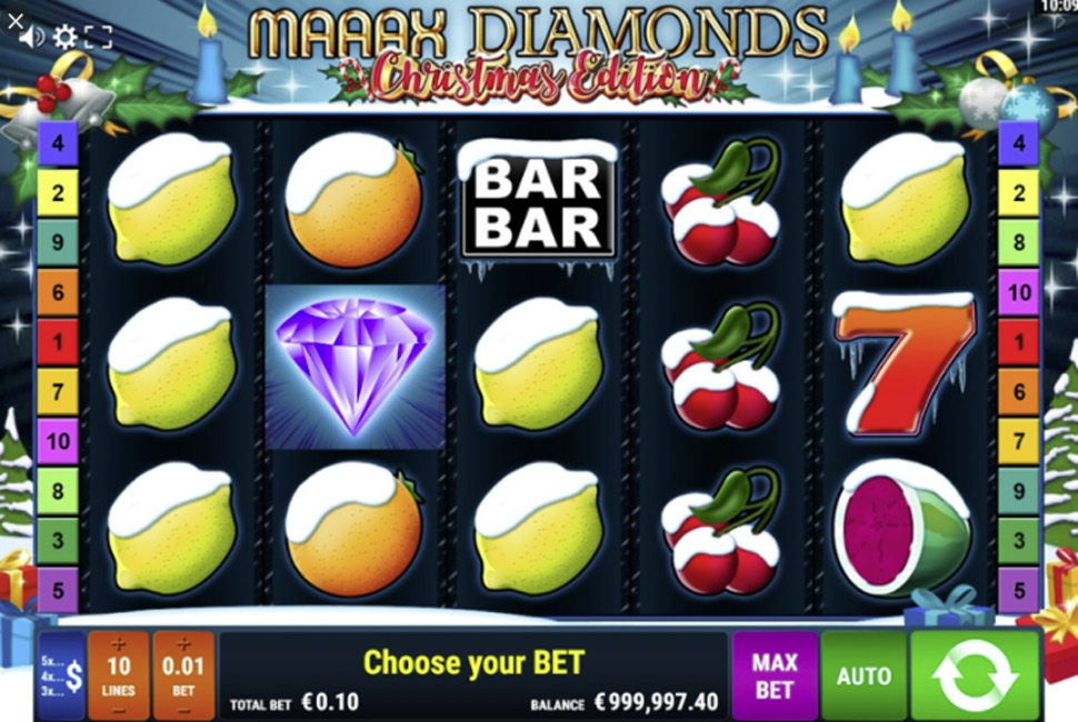 Maaax Diamonds Christmas Edition - slot