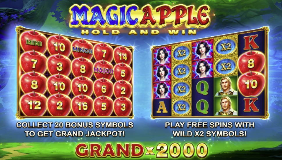 Magic Apple Hold and Win - Bonus Features