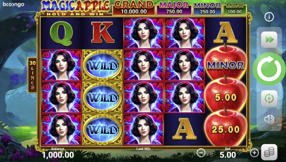 Magic Apple Hold and Win - Slot