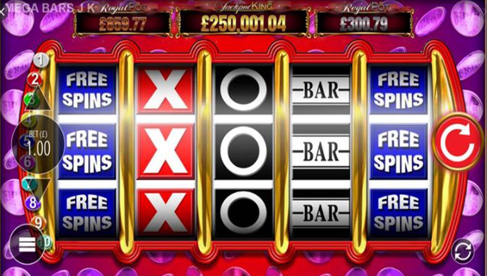 Mega Bars Jackpot King - Slot