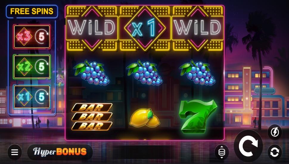 Miami Bonus Wheel - Slot