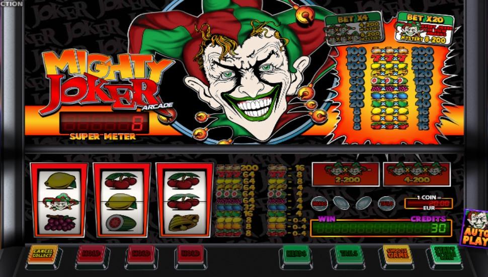 Mighty Joker Arcade - Bonus features