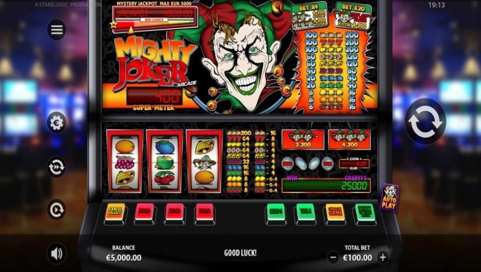 Mighty Joker Arcade - Slot