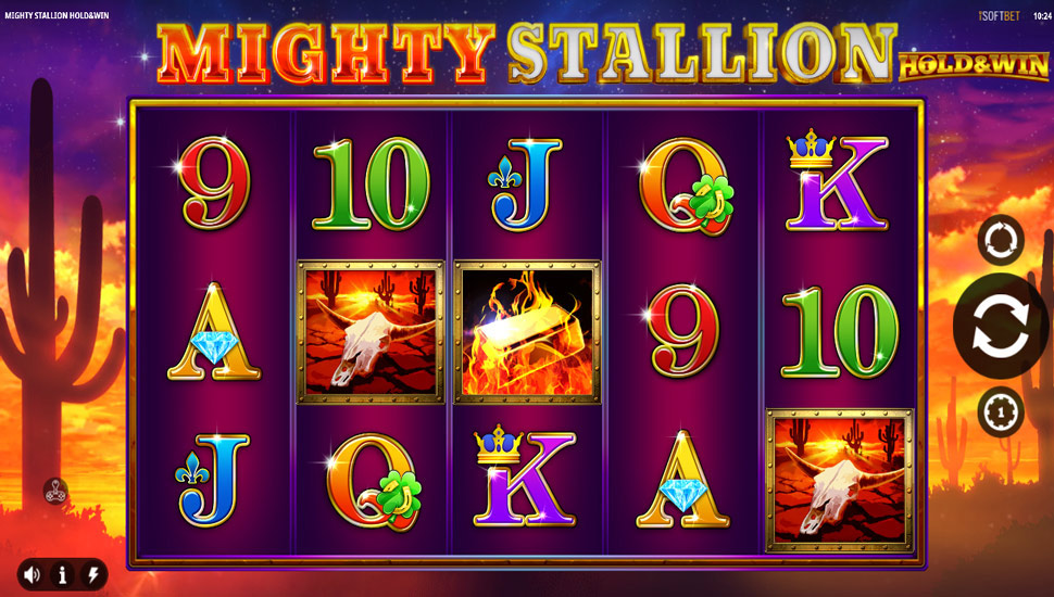 Mighty stallion hold&win - Slot