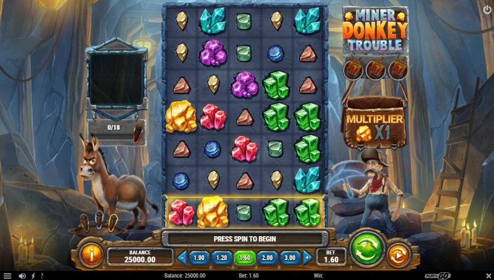 Miner Donkey Trouble - Slot
